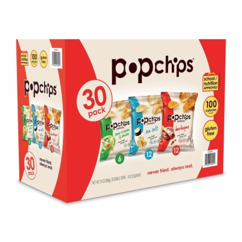 Popchips Variety Box (30 Pack) Perspective: front