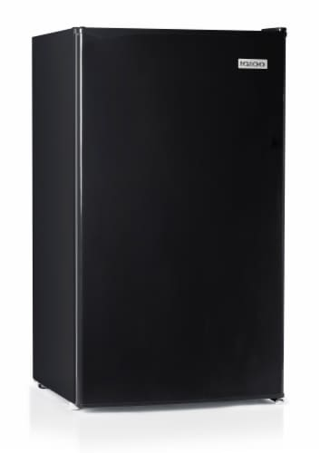 Igloo Refrigerator with Freezer - Black Perspective: front