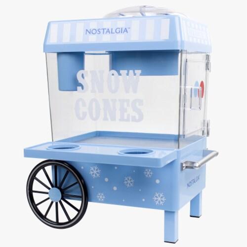 Nostalgia Vintage Snow Cone Maker Perspective: front