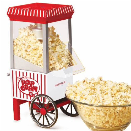 Nostalgia Hot Air Popcorn Maker Perspective: front