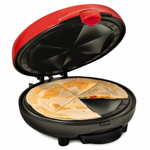 Nostalgia Taco Tuesday Deluxe Electric Quesadilla Maker Perspective: front