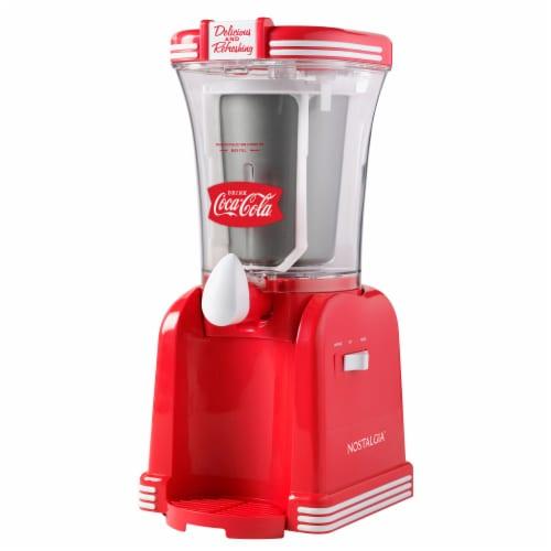 Nostalgia Coca-Cola Retro Slush Drink Maker Perspective: front