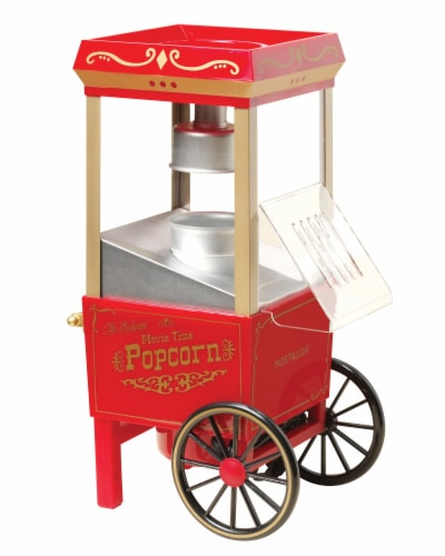 Nostalgia 12-Cup Hot Air Popcorn Maker Perspective: front