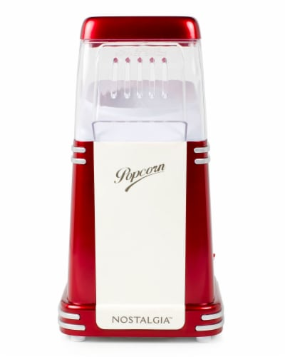 Nostalgia Electrics Retro Hot Air Popcorn Maker - Red Perspective: front
