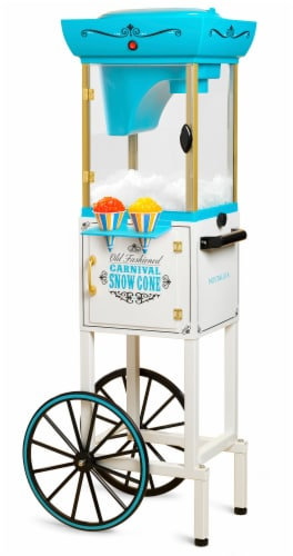 Nostalgia Snow Cone Cart Perspective: front