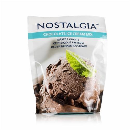 Nostalgia Chocolate Ice Cream Mix Perspective: front