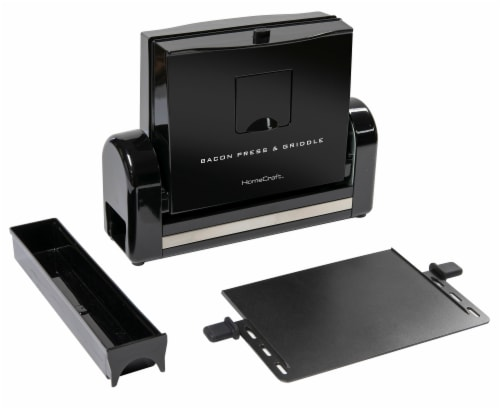 HomeCraft Bacon Press & Griddle Perspective: front