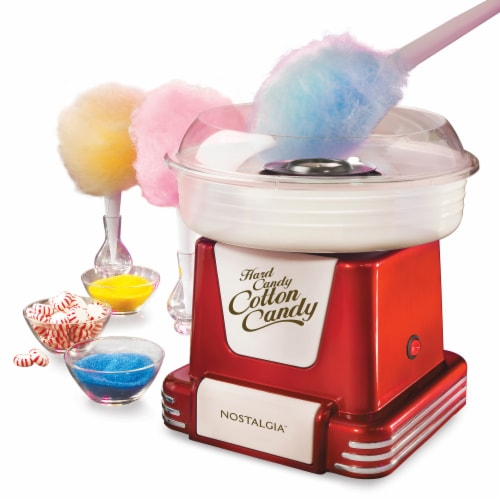 Nostalgia Retro Hard & Sugar-Free Candy Cotton Candy Maker Perspective: front