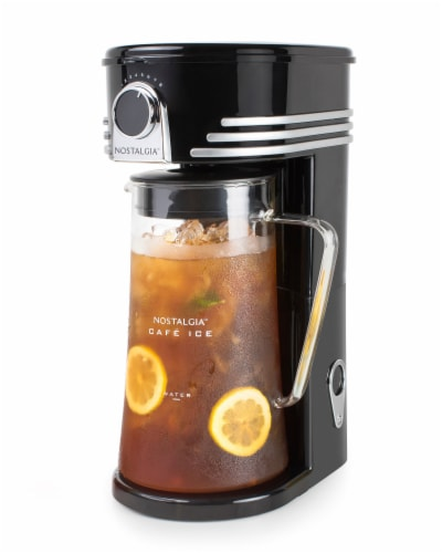 Nostalgia 3 Quart Iced Coffee and Tea Brewing System Perspective: front