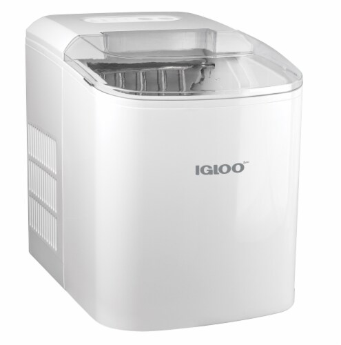 Igloo Automatic Portable Countertop Ice Maker - White Perspective: front