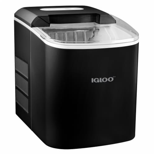 Igloo Automatic Portable Countertop Ice Maker - Black Perspective: front
