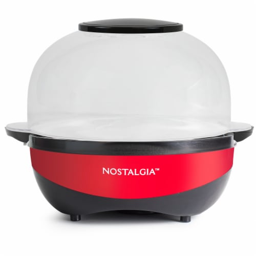 Nostalgia Stirring Speed Popcorn Popper - Red Perspective: front
