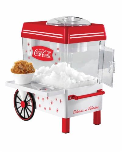Nostalgia Coca-Cola Snow Cone Maker Perspective: front