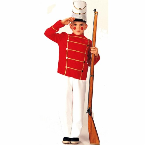 Rubies Costume 113267 Wooden Soldier Child Costume, Medium Perspective: front