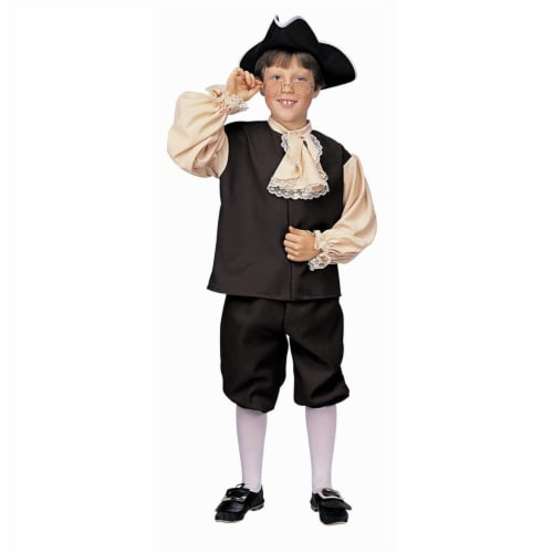Costumes For All Occasions Ru10051Md Colonial Boy Child Medium Perspective: front