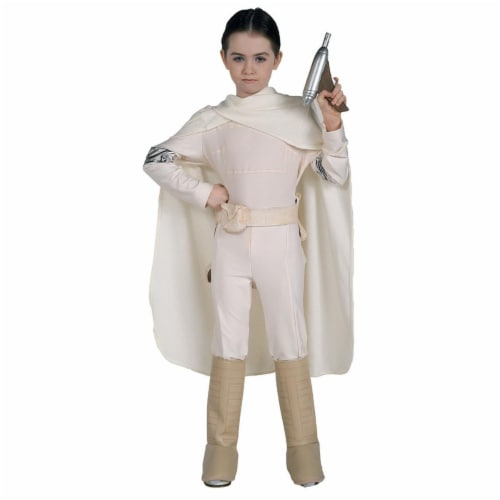 Rubies Costume Co 10607 Star Wars Padme Amidala Deluxe Child Costume Size Large- Girls 12-14 Perspective: front