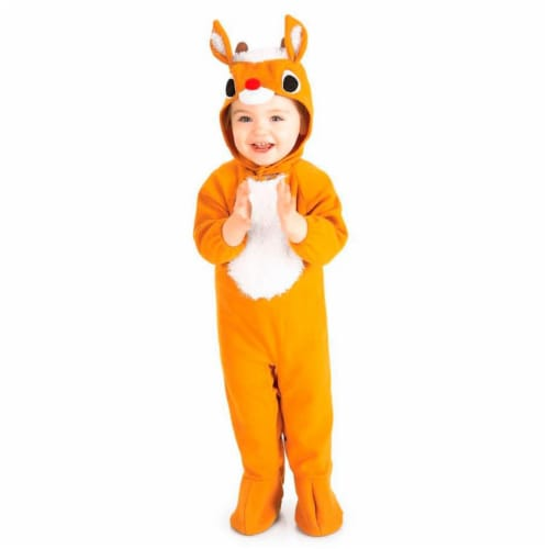 Rubies 275187 Baby Toddler Lil Reindeer Romper Perspective: front