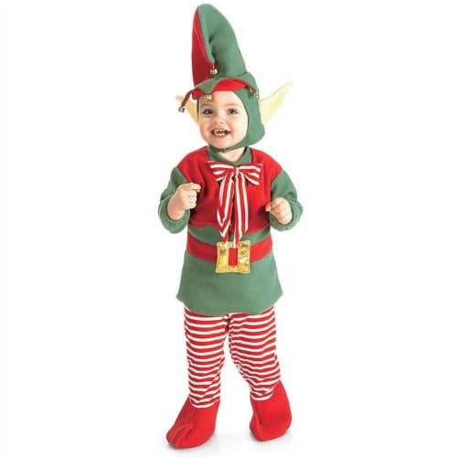 Rubies Costumes 275124 Christmas Elf Toddler Costume Perspective: front