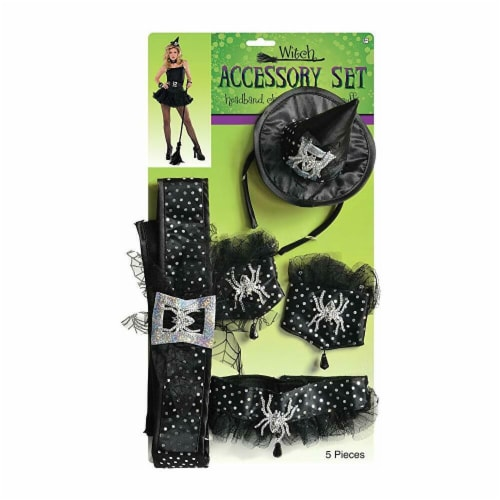 Rubies 402747 Witch Accessory Kit - One Size Perspective: front