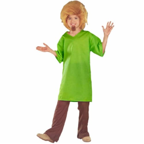 Rubies Costume Co 17699 Scooby-Doo Shaggy Child Costume Size Small- Boys 4-6 Perspective: front