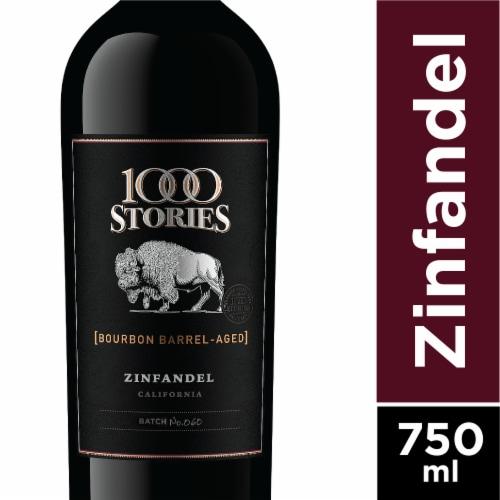 1000 Stories Bourbon Barrel-Aged Zinfandel Perspective: front