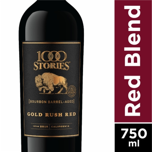 1000 Stories Bourbon Barrel-Aged Gold Rush Red Blend Perspective: front