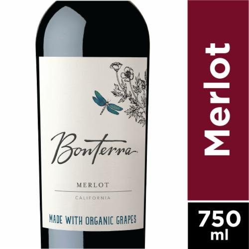 Bonterra Merlot Red Wine Perspective: front