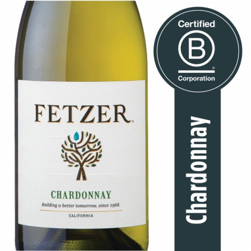 Fetzer Chardonnay White Wine Perspective: front