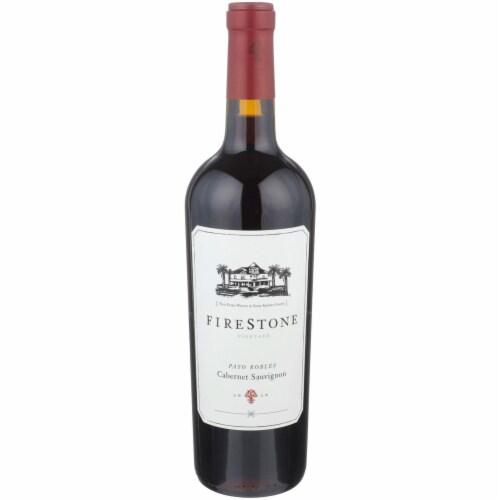 Firestone Vineyard Cabernet Sauvignon Perspective: front