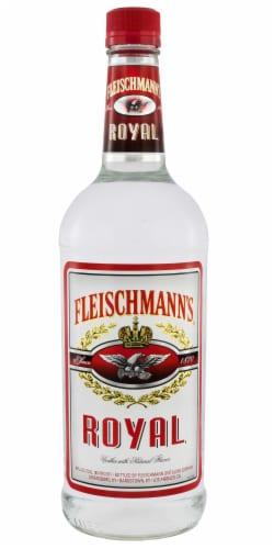 Fleischmann's Royal Vodka Perspective: front
