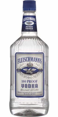 Fleischmann's Vodka Perspective: front