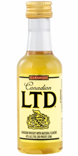 Canadian LTD Canadian Whisky Perspective: front