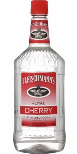 Fleischmann's Royal Cherry Flavored Vodka Perspective: front