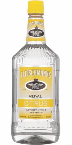 Fleischmann's Royal Citrus Flavored Vodka Perspective: front