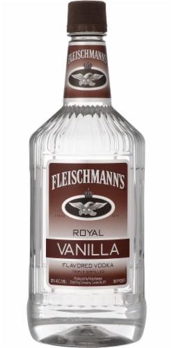 Fleischmann's Royal Vanilla Flavored Vodka Perspective: front