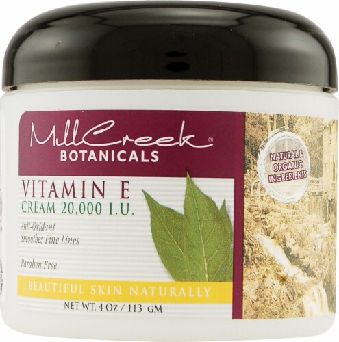 Mill Creek Botanicals Skin Cream Perspective: front
