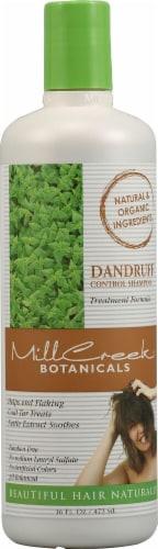 MillCreek  Botanicals Dandruff Control Shampoo Perspective: front