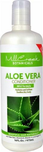 Mill Creek  Botanicals Aloe Vera Conditioner Mild Formula Perspective: front