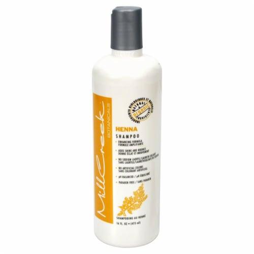 MillCreek Botanicals Henna Shampoo Perspective: front