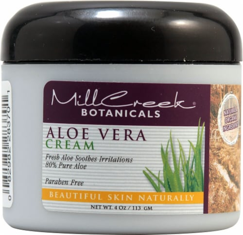 MillCreek Aloe Vera Facial Cream Perspective: front