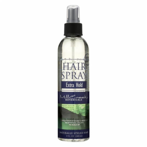 Mill Creek Extra Hold Hair Spray Perspective: front
