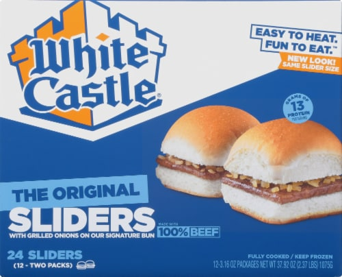 White Castle The Original Hamburger Sliders Perspective: front