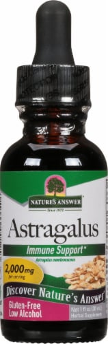 Nature's Answer Astragalus Herbal Supplement 2000mg Perspective: front
