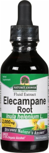 Nature's Answer Elecampane Herbal Supplement 2000mg Perspective: front