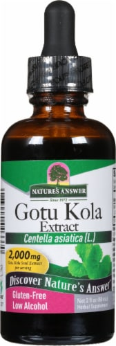 Nature's Answer Gotu Kola Herbal Supplement 2000mg Perspective: front