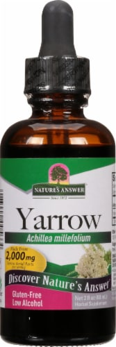 Nature's Answer Yarrow Extract 2000 mg Perspective: front