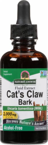 Nature's Answer Cat's Claw Herbal Supplement 1000mg Perspective: front