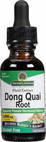 Nature's Answer Dong Quai Herbal Supplement 1000mg Perspective: front