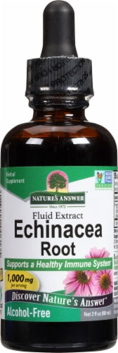 Nature's Answer Echinacea Extract 1000 mg Perspective: front