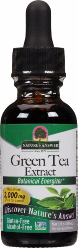 Nature's Answer Green Tea Extract 2000 mg Perspective: front